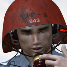 Universal Sailor - US Navy Talker Helmet image 1