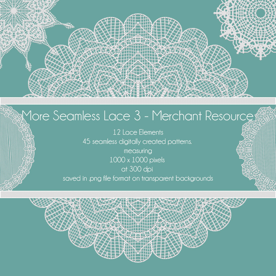 More Seamless Lace 3 - Merchant Resource by antje