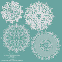 More Seamless Lace 3 - Merchant Resource image 8