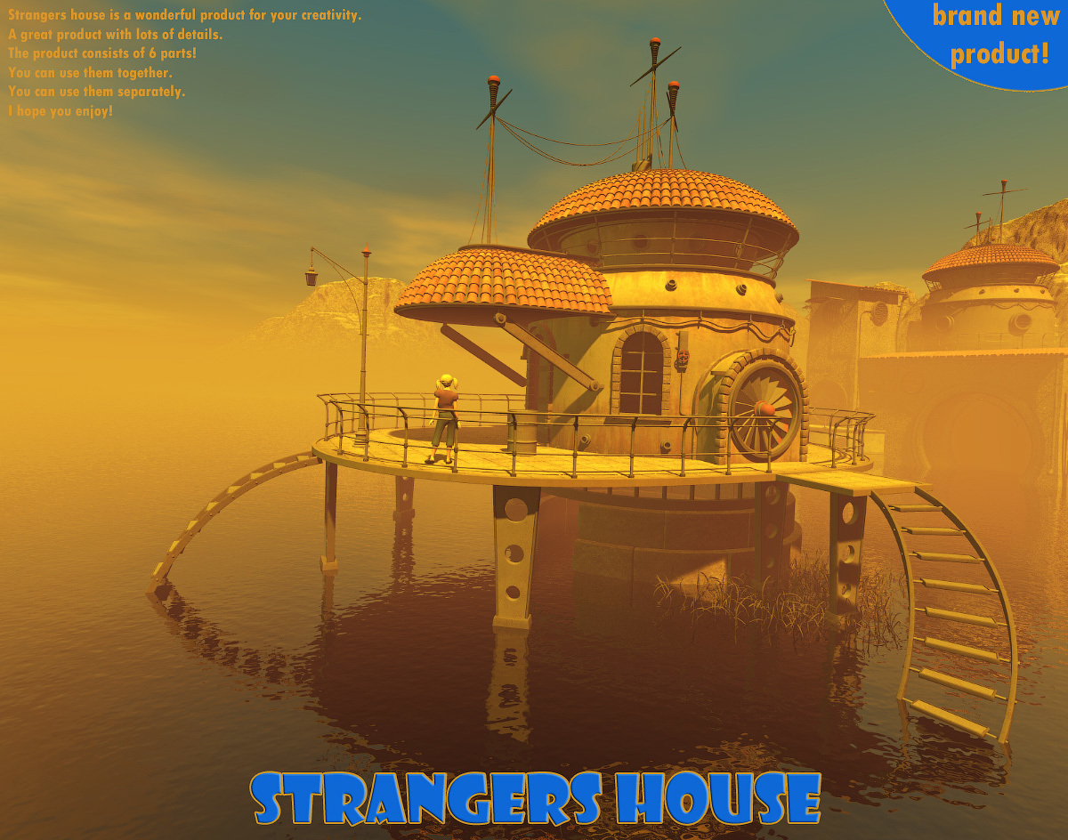 Strangers House for Poser by 1971s
