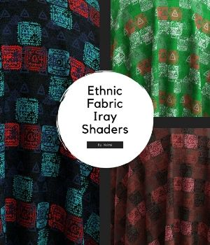 40 Ethnic Fabric Iray Shaders 2D Graphics 3D Figure Assets Merchant Resources nelmi