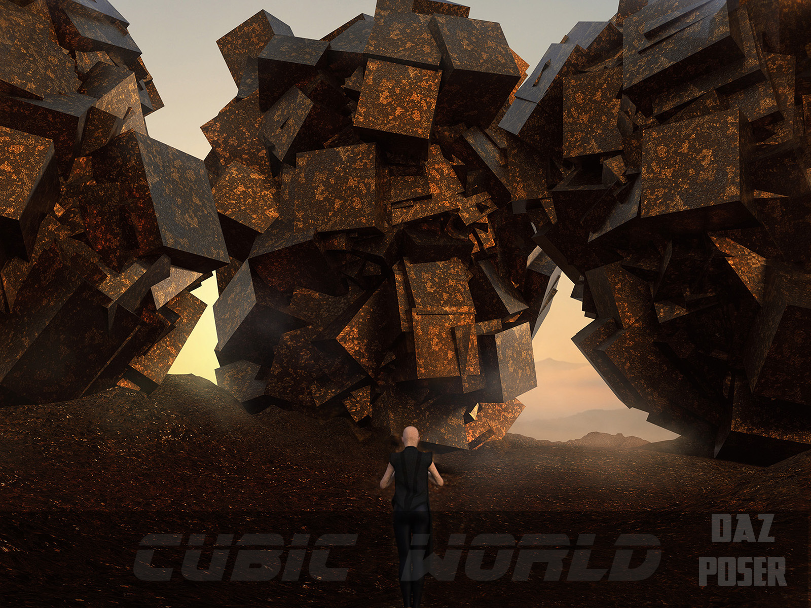 Cubic World  by HWW0