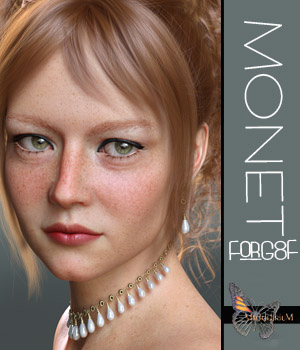 MDD Monet for G8F (IRAY ONLY) 3D Figure Assets Maddelirium