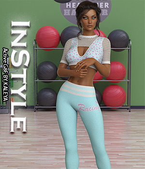 InStyle - Active G8F 3D Figure Assets -Valkyrie-