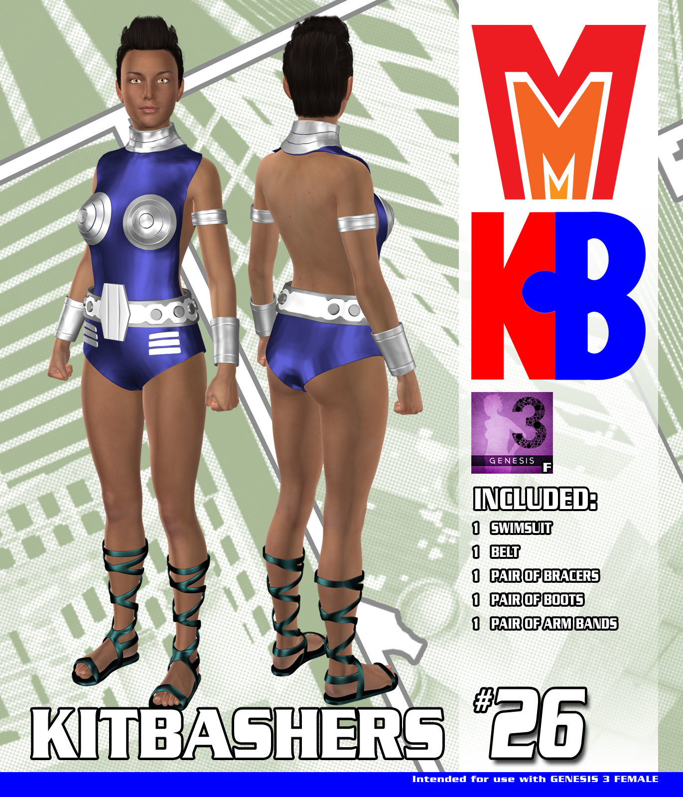 Kitbashers 026 MMG3F by MightyMite