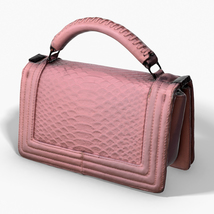 Pink Pochette - 3D Photoscanned PBR - Extended License image 1
