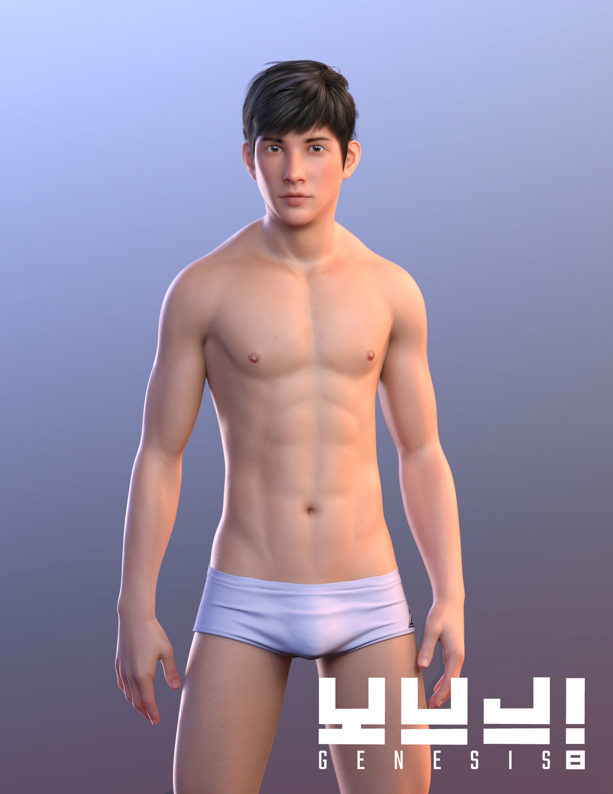 Yuji for Genesis 8 Male by sithlordsims