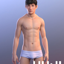 Yuji for Genesis 8 Male image 1