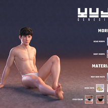 Yuji for Genesis 8 Male image 2