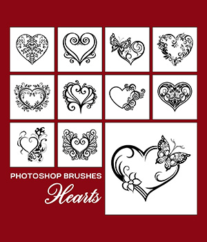 PB - Hearts 2D Graphics Merchant Resources Atenais