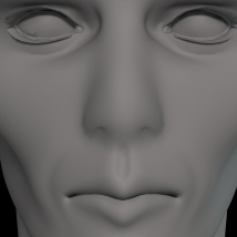 L'Homme Head Shaping Morphs MR image 3