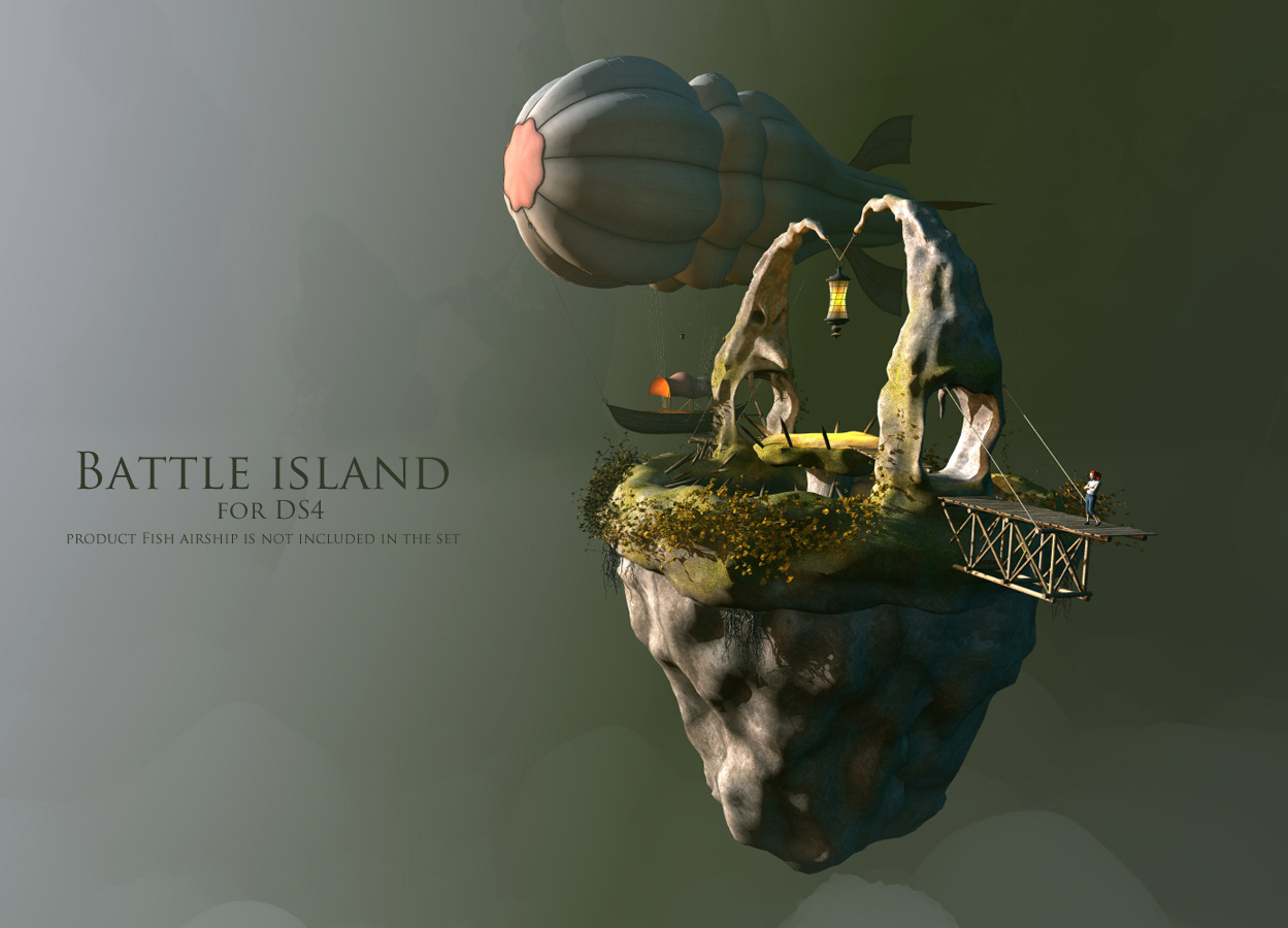 Battle island for DS4