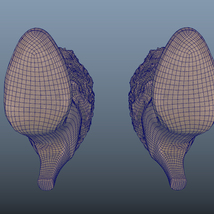 Fur Trim Heel Boots - Photoscanned PBR - Extended License image 9