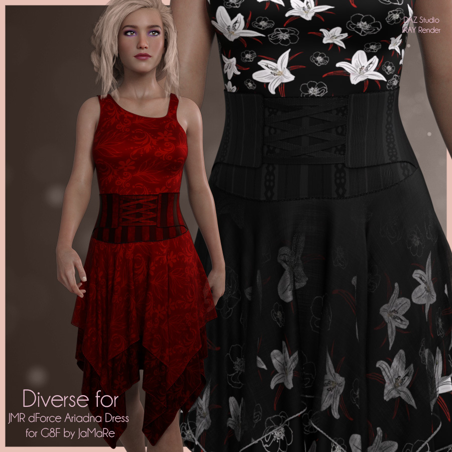 Diverse for Ariadna Dress by antje