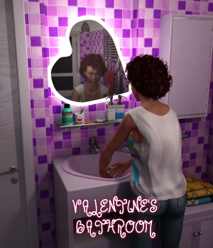 Valentine's Bathroom