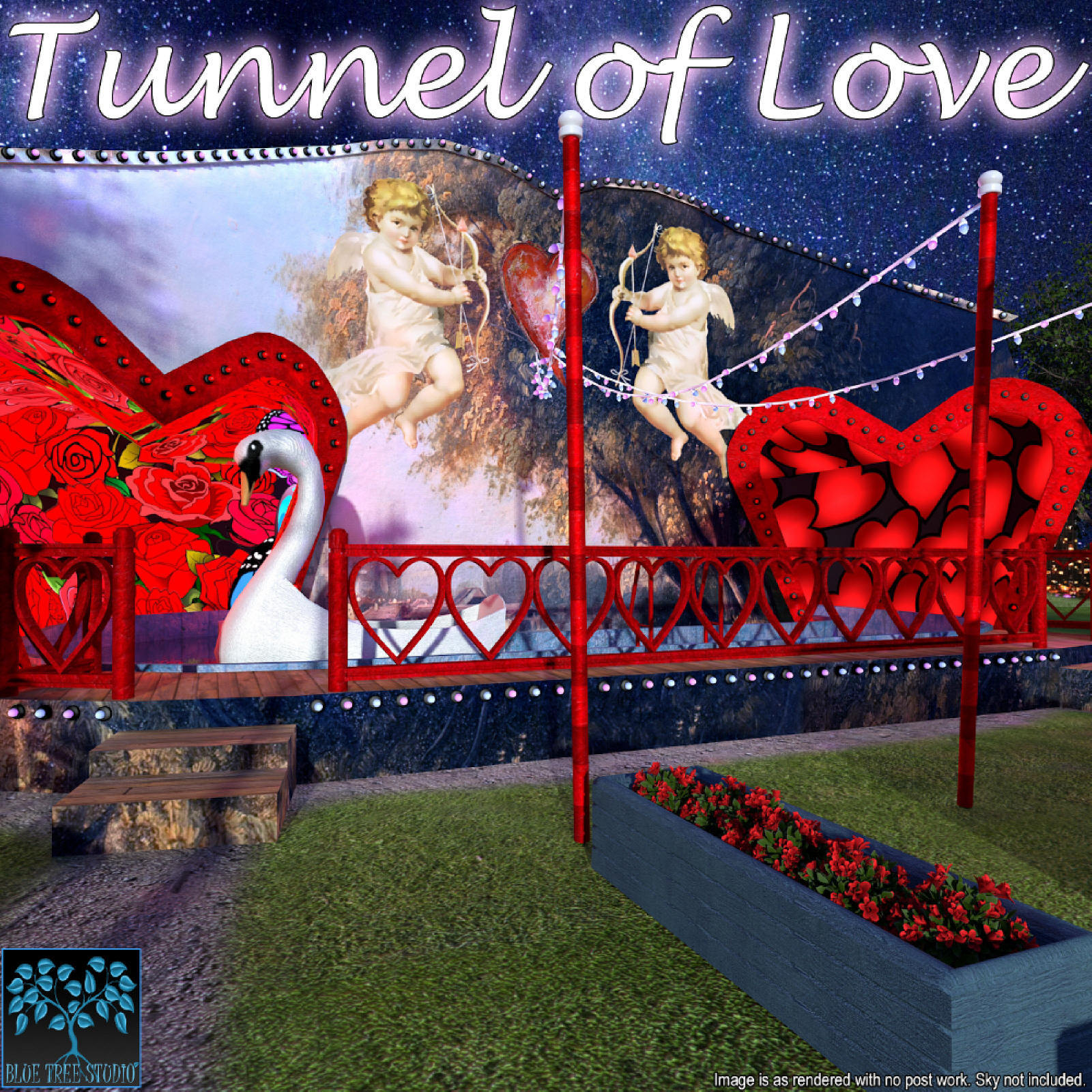 Tunnel of Love for Poser by BlueTreeStudio