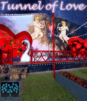Tunnel of Love for Poser 3D Models BlueTreeStudio