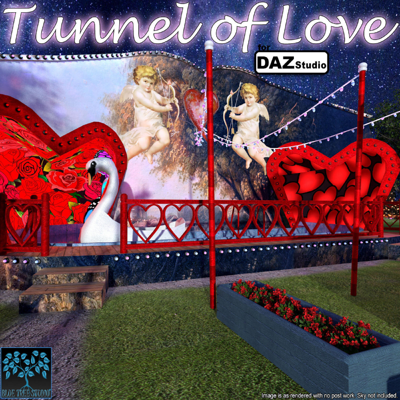 Tunnel of Love for Daz Studio by BlueTreeStudio