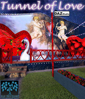 Tunnel of Love for Daz Studio 3D Models BlueTreeStudio