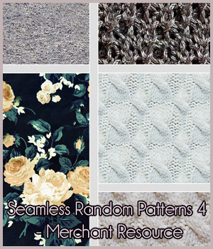 Seamless Random Patterns 4 - Merchant Resource 2D Graphics Merchant Resources antje