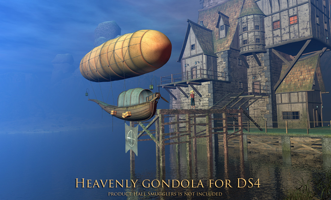 Heavenly gondola for DS4 by 1971s