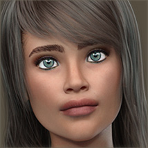 TDT-Azzurra for Genesis 8 Female image 1