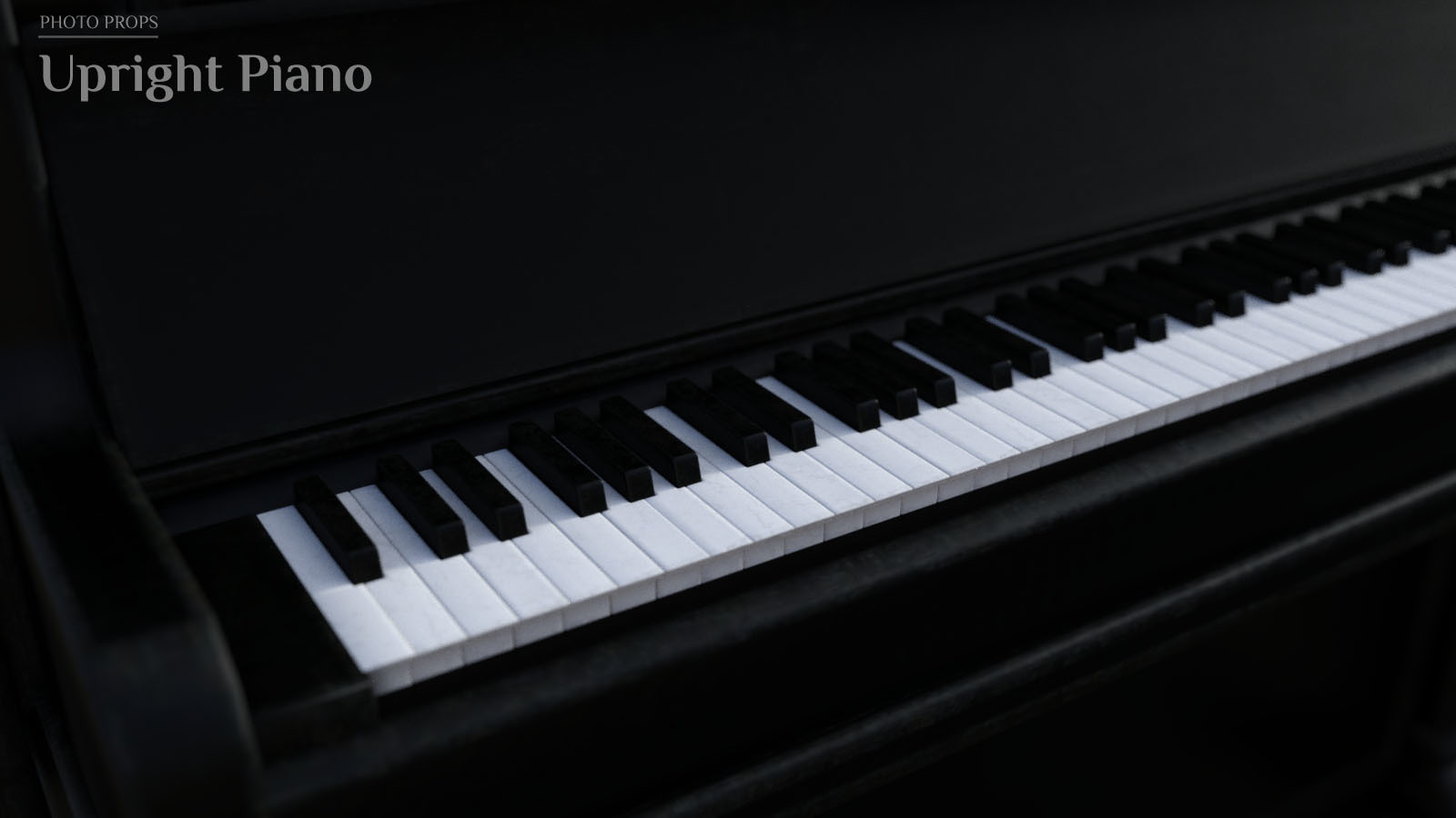 Photo Props: Upright Piano