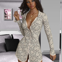 VERSUS - dForce XL Long Shirt for Genesis 8 Females image 6
