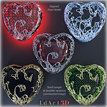 Complex Morphing Hearts image 6