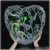 Complex Morphing Hearts image 9