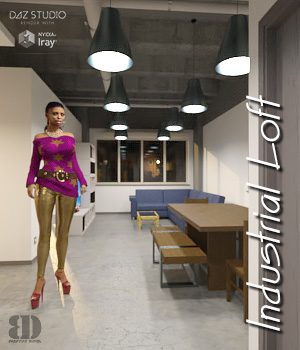 Industrial Loft 3D Models bigdreams