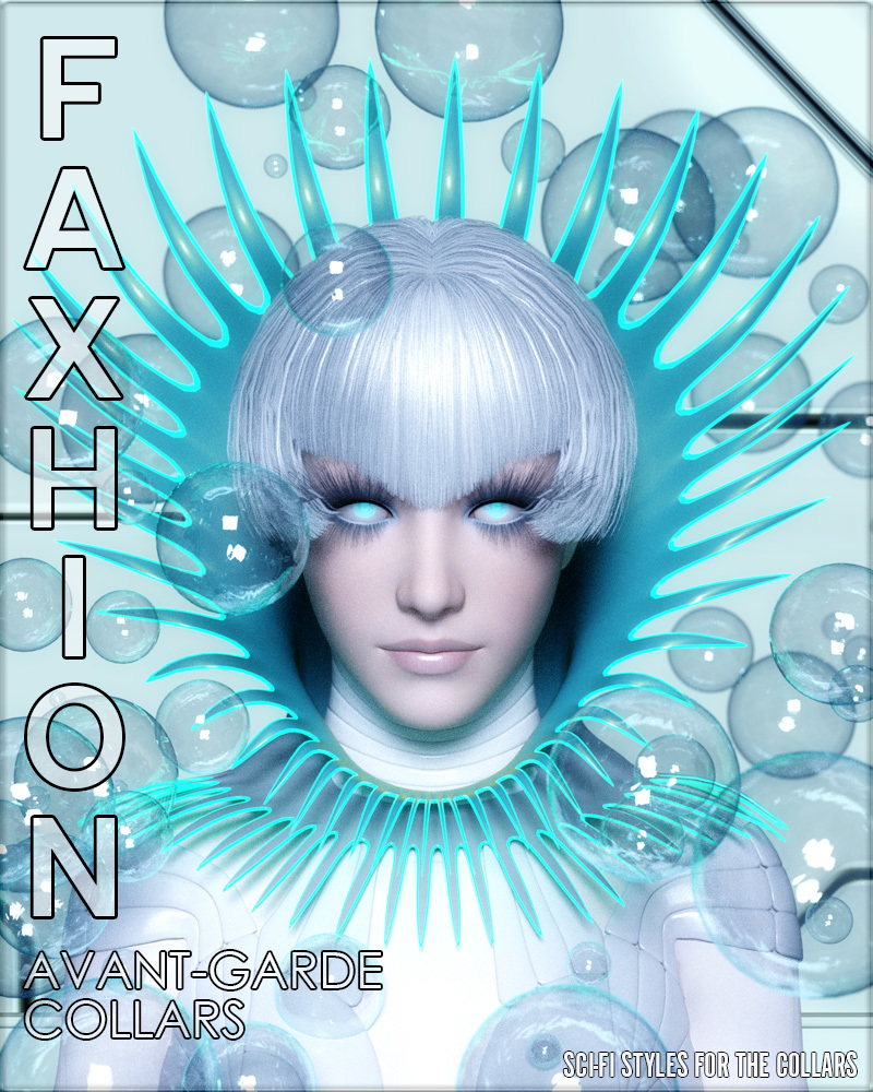 Faxhion - Avant-Garde Collars by vyktohria