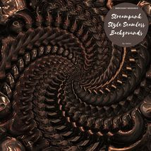 12 Steampunk Style Backgrounds image 4