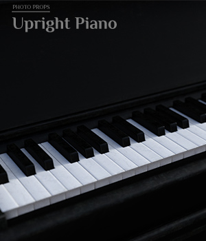 Photo Props: Upright Piano - Extended License 3D Models Extended Licenses ShaaraMuse3D