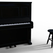 Photo Props: Upright Piano - Extended License image 1