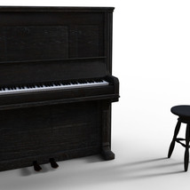 Photo Props: Upright Piano - Extended License image 2