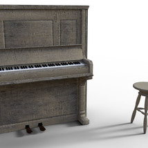 Photo Props: Upright Piano - Extended License image 3