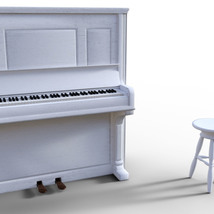 Photo Props: Upright Piano - Extended License image 4