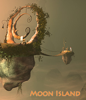 Moon Island for Daz Studio 3D Models 1971s