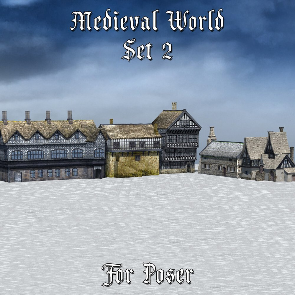 Medieval World Set 2 for Poser by VanishingPoint