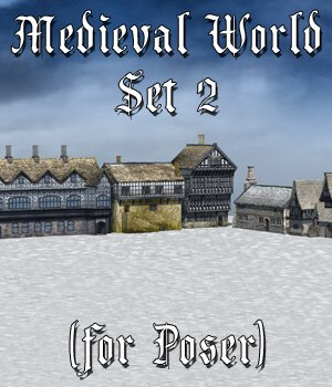 Medieval World Set 2 for Poser 3D Models VanishingPoint
