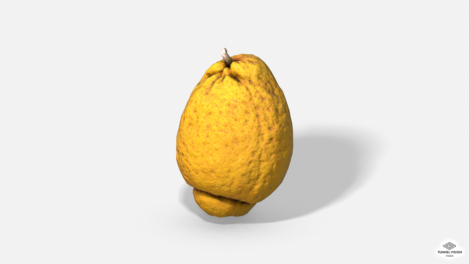 Fruit Citron - Lemon - Photoscanned PBR - Extended Licence