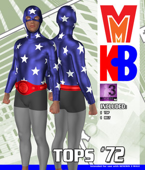 Tops 072 MMKBG3M 3D Figure Assets MightyMite