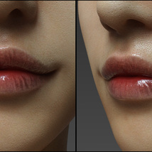 Lips Morphs for G8F Vol 5 image 2
