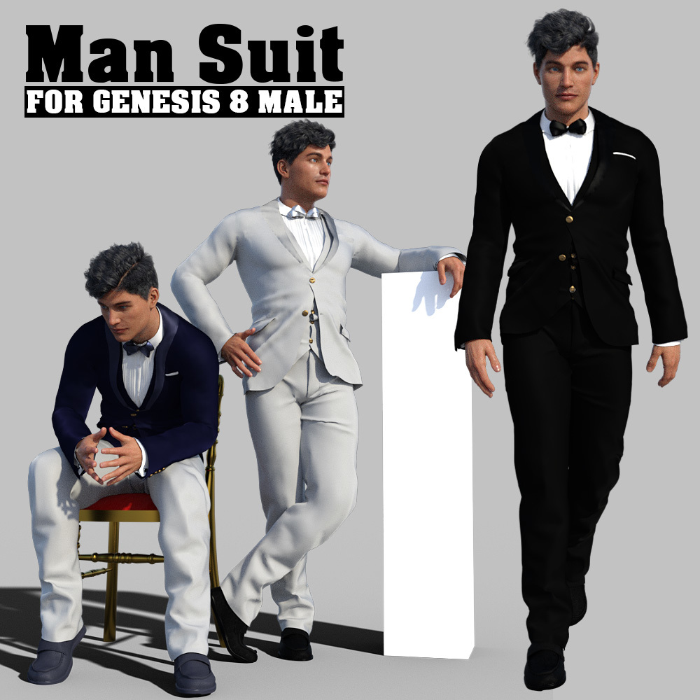 Man Suit for G8 males by powerage
