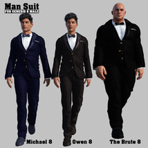 Man Suit for G8 males image 6