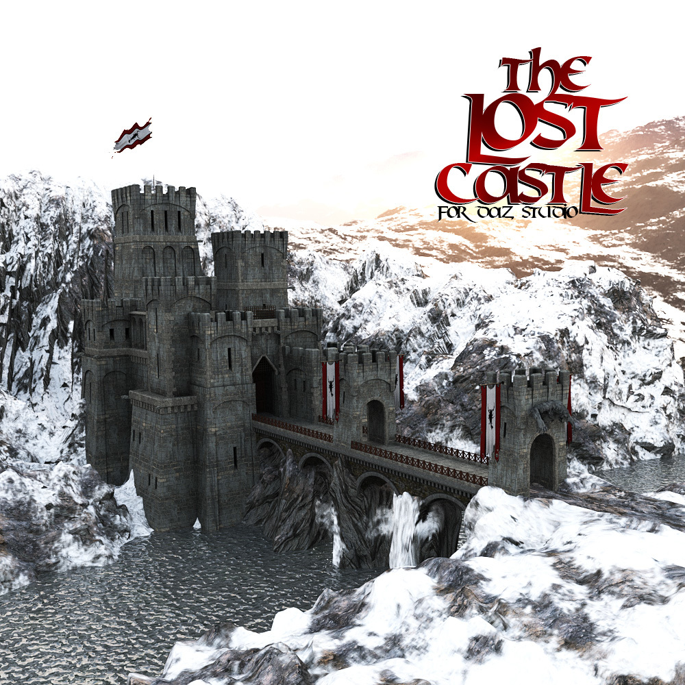 The Lost Castle for DS Iray by powerage