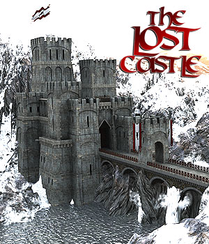 The Lost Castle for DS Iray 3D Models powerage