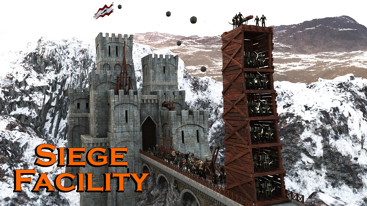Siege Facility for DS Iray by powerage
