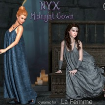 NyX Midnight Gown - dynamic for La Femme image 2